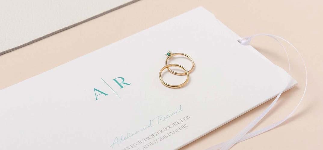 Edle Hochzeitseinladungen Aussergewohnlich Elegante Motive Fur Die